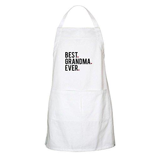 CafePress Best Grandma Ever Apron Kitchen Apron with Pockets, Grilling Apron, Baking Apron