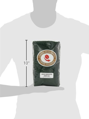 Green Unroasted Kenya AA, Whole Bean Coffee, 5-Pound Bag