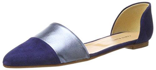 Fabio Rusconi WoMen S 2423 Ballet Flats Blue (Cielo + Cielo)