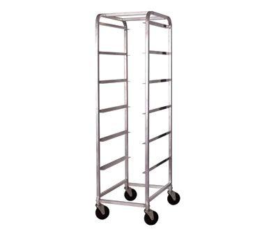 Winco ABBC-6 Bus Box Cart, 6 Tiers (Stacked) Bus Box Or Lug Box, 18-5/8