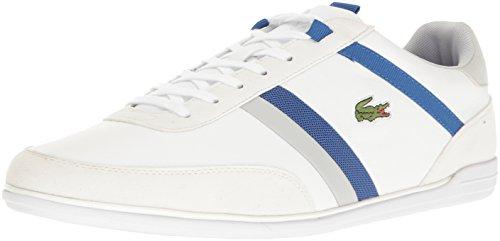 Lacoste Men's Giron 117 1 Casual Shoe Fashion Sneaker, Wh...