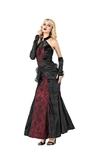 Costume Dress Devil Halloween Maxi Cosplay Femmes Vampire Parti 8851 Performance Costume Sijux Mascarade xBOTwpanIq