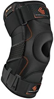 Shock Doctor Knee Support with Dual Hinges (Black, Small)