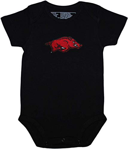 Creative Knitwear Arkansas Newborn Baby Clothes, Razorbacks, Boy and Girl College Bodysuit