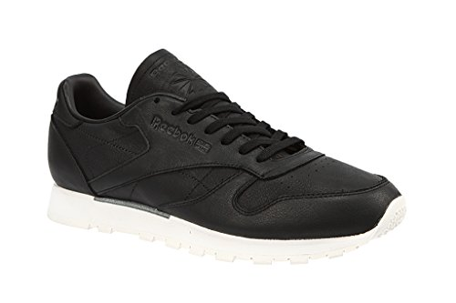 Reebok Men CL Leather OMN, BLACK/CLASSIC WHITE BLACK/CLASSIC WHITE