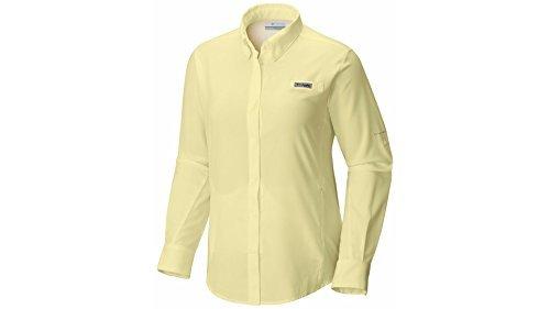 Columbia Women's Tamiami II Long Sleeve Shirt, Endive, Large (Sleeve Short Sportswear)