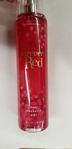 Bath and Body Works Forever Red Fine Fragrance Mist 8 Ounce Full Size Spray Retired Scent