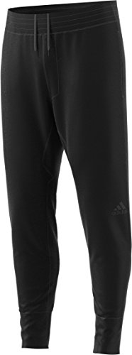 adidas Mens Basketball Sport Pants, Black, Small