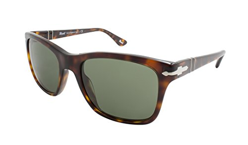 Persol 3135S 24/31 Havana 3135S Rectangle Sunglasses Lens Category - Sunglasses Italian Persol