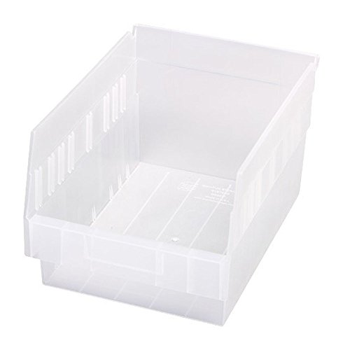 Quantum Storage Systems Store More 6'' Shelf Bin 11-5/8'' X 8-3/8'' X 6'' - 20 Pack by Quantum Storage Systems