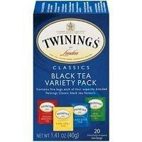 Twinings Variety Pack Tea, 20 Per Pack - 6 Packs Per - Variety Pack Twinings