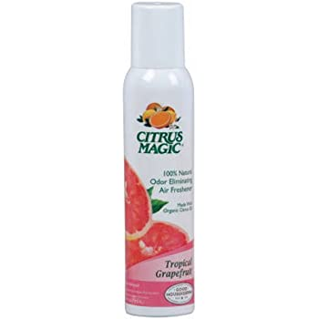 citrus magic natural odor eliminating air freshener spray pink grapefruit 35 ounce