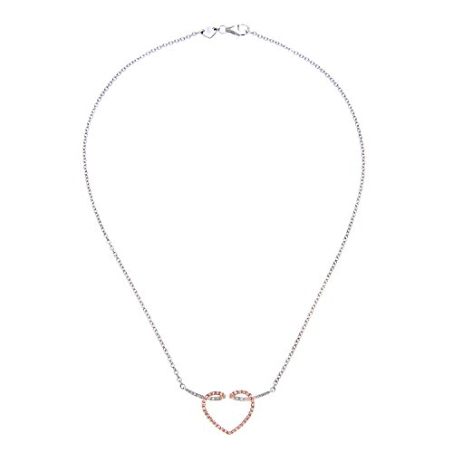 Revoni Bague en or blanc 9carats-Collier Femme-diamant