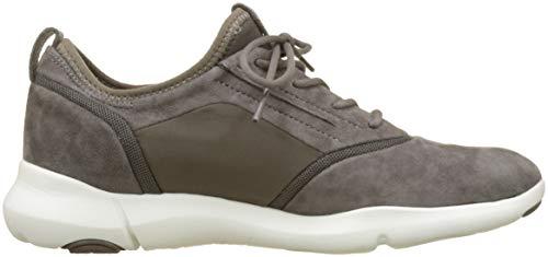 on D A Braun Chestnut Sneaker S Damen Slip C6004 Geox Nebula xYIwCO5