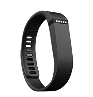 Fast Jewelry® Black Replacement Wrist Band for Fitbit Flex Bracelet Sport Arm Band Armband-Small