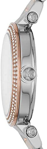 Michael Kors Women's Parker Two-Tone Stainless Steel Watch MK6301 WeeklyReviewer