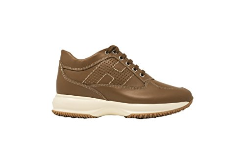 Donna Sneakers Interactive Pelle HXW00N00E30D0WC801 Cuoio Donna Hogan Cuoio qPUAfw