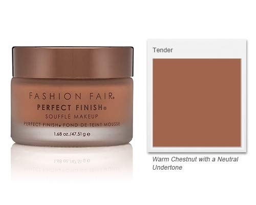 Fair Creme Foundation - Fashion Fair Oil-Free Perfect Finish Souffle Makeup - Tender