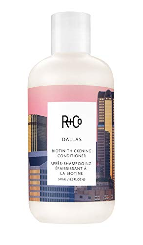 R+Co Dallas Biotin Thickening Conditioner (Best Drugstore Deep Conditioner For Dry Hair)