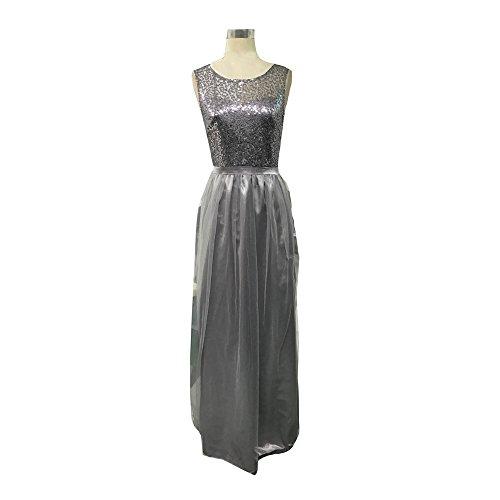 Damen Kleider BBring Frauen Elegant Lang Abendkleider Formale ...