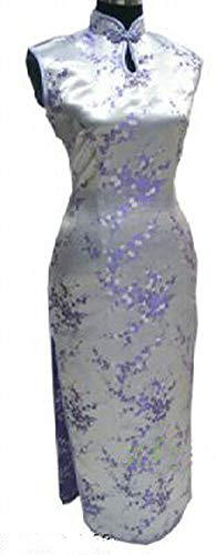 アレンジジョージスティーブンソン胚芽赤い中国の伝統的なドレス女性シルクサテンサファイアサイズS M L XL XXL XXXL,ライトパープル,ザ?