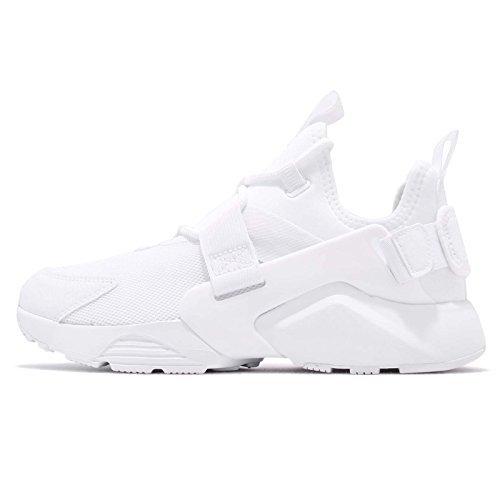new arrival de987 c7033 Nike Air Huarache City Low White White-White (Womens) (10 B(M) US)