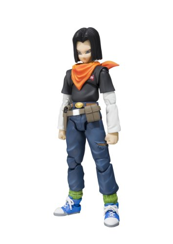 "Bandai Tamashii Nations S.H. Figuarts Android 17 ""Dragon Ball Z"" Action Figure"