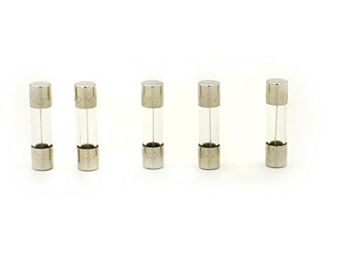 5Qty. Littelfuse T1.25AL250VP 1.25A 250V Slow-Blow GLASS Fuse 520MM