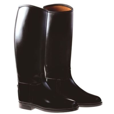 Dublin Universal Tall Boots Kids - Color:Black Size:12 (Boys Boot Spurs)