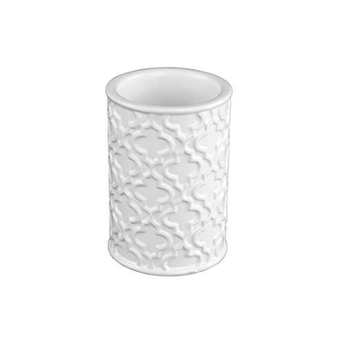 Ava - Style comes home White Ceramic Accessory Holder - Valencia by Ava - Style comes home