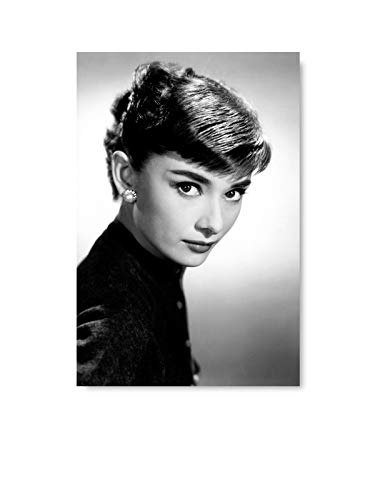 Christmas Pajamas for Family Hepburn Black and White Nifty Canvas Classic Wall Art Hepburn Vintage Tapestry Audrey Hepburn Gift Ideas 8