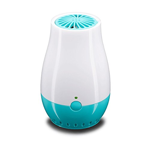WINBEE USB Portable Ozone Generator, Air Purifier, Ozone Ionic Air Cleaner Remove Smoke, Odor, Bacteria, Mini Ozone Freshener for Bathroom, Small Room, Closet, Pet bedroom, Refrigerator and Car (Blue)