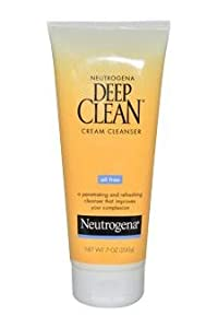 Neutrogena Oil-Free Deep Clean Cream Cleanser