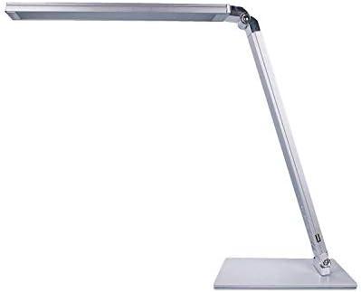 A-Lnice Lámpara de Mesa, Led lámpara de Mesa 1 Piel Protección de ...