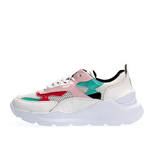 Pink Sneakers Fuga Femme Date White wIqgF