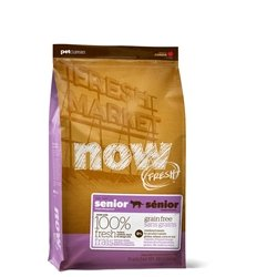 Now! 152324 Fresh Grain Free Food For Senior Cats, 16-Pound Bag