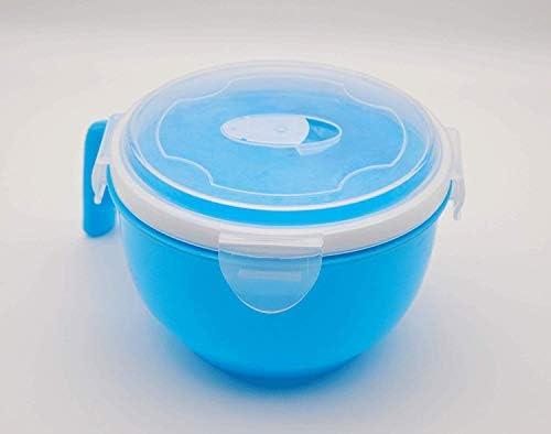 St@llion - Cuenco de plástico para microondas, horno y sopa con ...