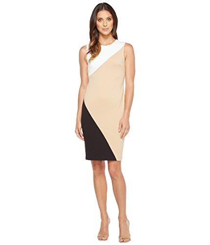 原告吐くレタッチ[カルバンクライン] Calvin Klein レディース Color Block Sheath Dress ドレス [並行輸入品]