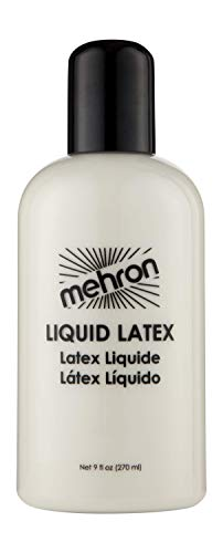 Mehron Makeup Liquid Latex (9 oz) (Clear -