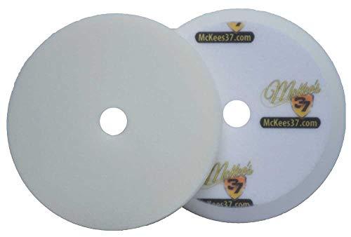 McKee's 37 MK37-62675-1610 Redline White All-in-One Foam Polishing Pad (6.75 Inch)