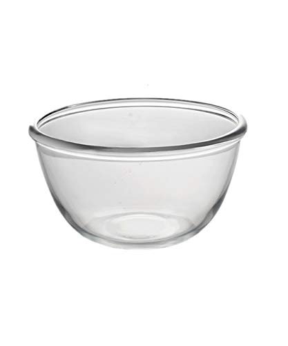 Snack Dip Bowls Dishware Noodle bowl fruit salad bowl noodle bowl home baking egg and basin tempered glass bowl large/9.2in kitchen restaurant gifts (UnitCount : 2 pack) ()