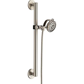 Delta Faucet 51400 SS Decorative ADA Shower Kit Transitional, Stainless