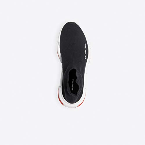 92d23cd9d9d ... -Balenciaga Shoes for Men's & Women's Speed Trainer Mid 'Black Red'  Unisex Fashion ...