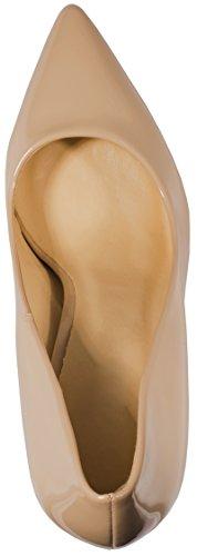 Elara Punta Tacco | Comodo di Stilettos | Elegante High Heels | Chunkyrayan, Beige (Beige), 40