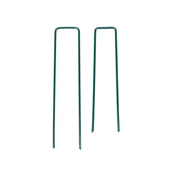 40 Picchetti Telo Pacciamatura Zincati A Caldo con Trattamento Premium Anti-ruggine Chiodi A U per Ancoraggio A Terra… 5 spesavip