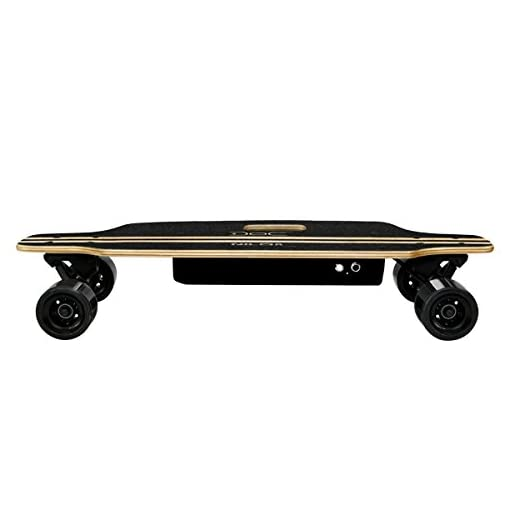 Nilox Doc Skateboard Electrique Adulte, Vitesse Max 12 km/h, Noir