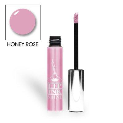 LIP INK Natural Tinted Shine Moisturizer Lip Gloss, Honey Rose ()