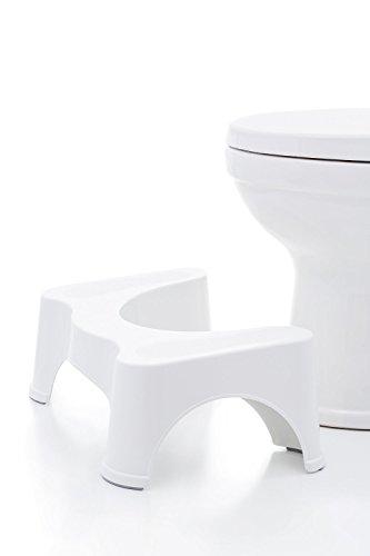 """Squatty Potty The Original Bathroom Toilet Stool 7""""- White ..."""