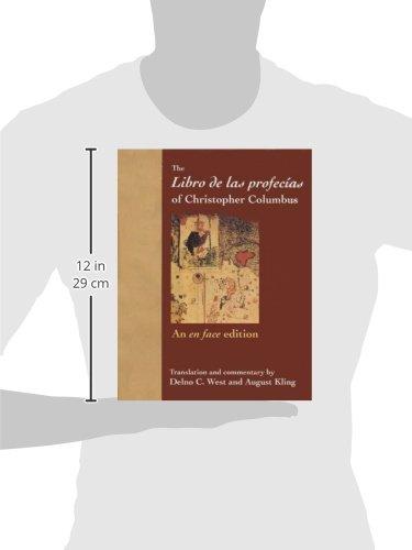 The Libro de las profecías of Christopher Columbus: An en face edition (Columbus Quincentenary Series) by Brand: University of Florida Press