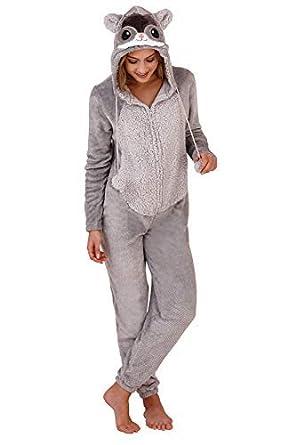Loungeable - Pijama de una pieza - para mujer: Amazon.es: Ropa y accesorios
